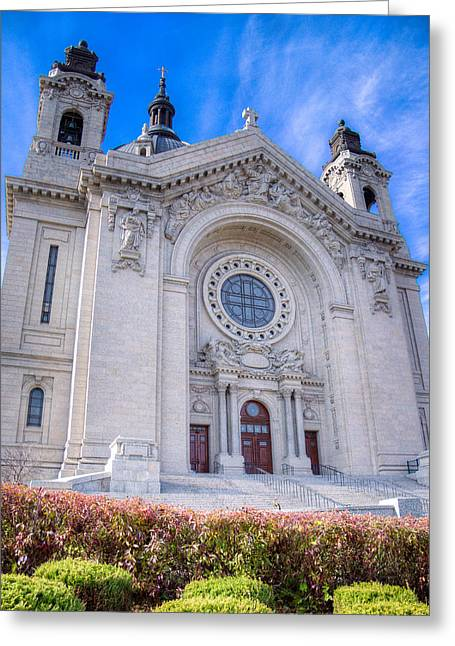 Beaux-arts Greeting Cards - Cathedral of Saint Paul II Greeting Card by Adam Mateo Fierro