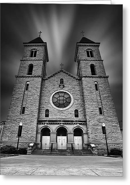 Zimmerman Greeting Cards - Cathedral on the Plains Greeting Card by Thomas Zimmerman