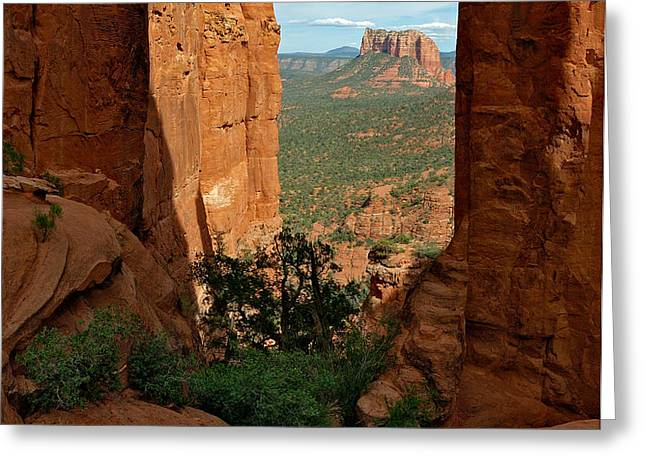 Cathedral Rock 05-012 Greeting Card by Scott McAllister