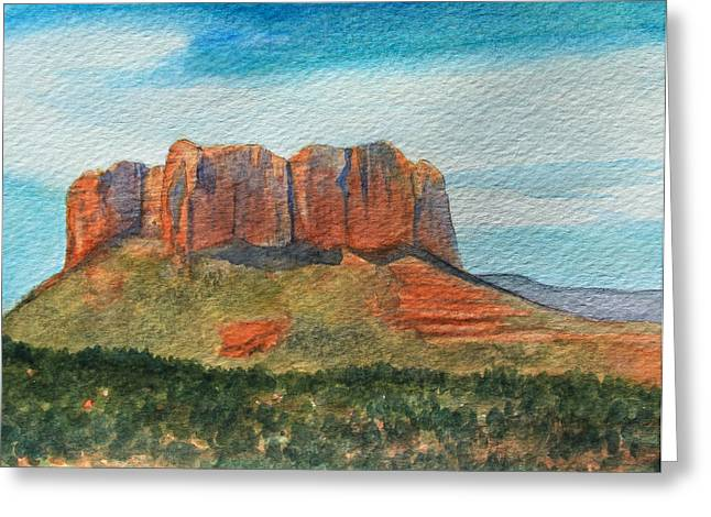 Cathedral Rock Greeting Cards - Cathedral Rock Sedona Greeting Card by James Zeger