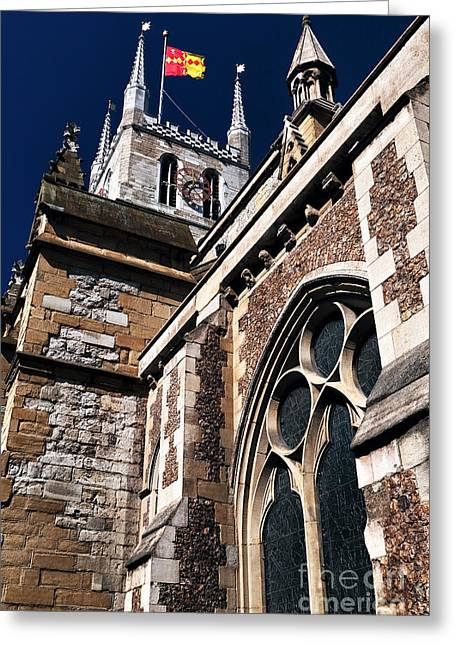 Photo Art Gallery Greeting Cards - Cathedral Wall Greeting Card by John Rizzuto
