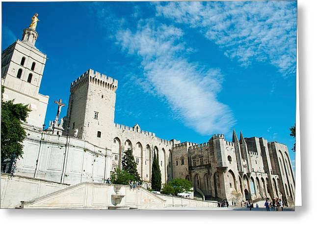 Fortified Wall Greeting Cards - Cathedrale Notre-dame Des Doms Greeting Card by Panoramic Images