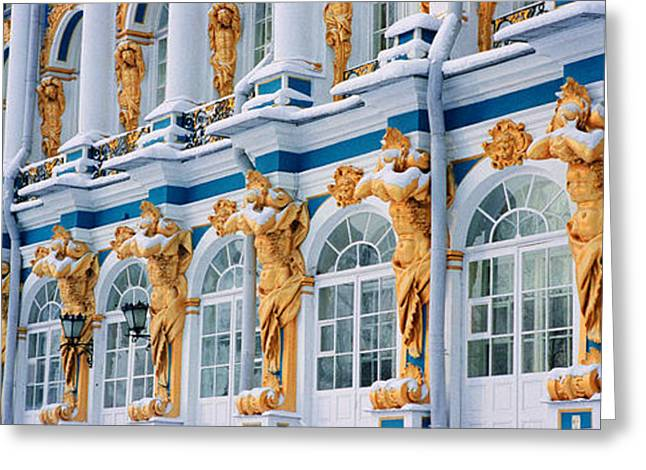 Repetition Greeting Cards - Catherine Palace Pushkin Russia Greeting Card by Panoramic Images