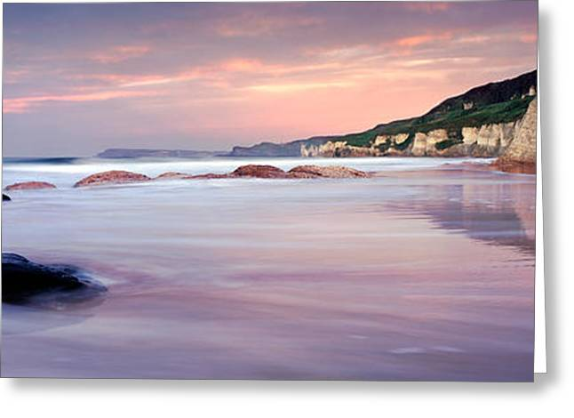 White Photographs Greeting Cards - Causeway Coast Greeting Card by Rod McLean