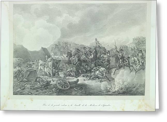 Cavalry Charge Greeting Card by British Library