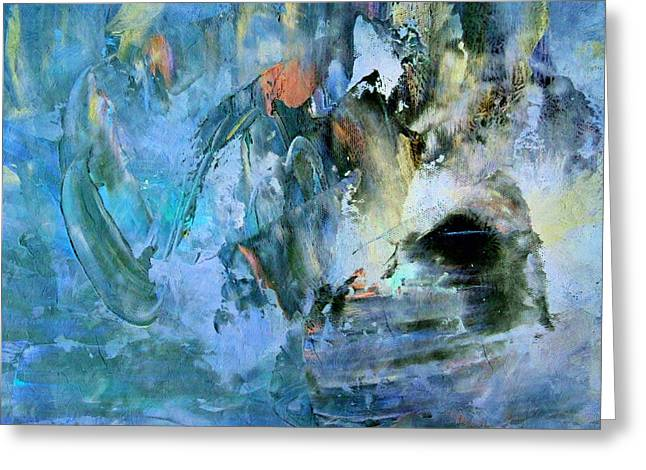 Zeana Romanovna Greeting Cards - Cave Of Depression Greeting Card by Georgiana Romanovna