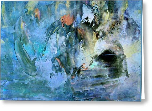 Hopelessness Greeting Cards - Cave Of Depression Greeting Card by Georgiana Romanovna