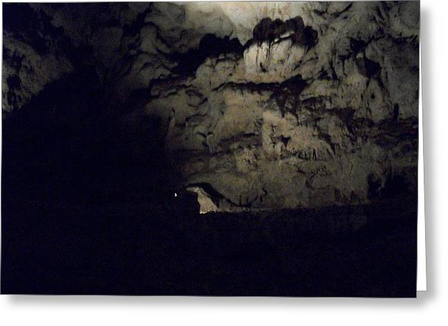 Caves Greeting Cards - Cave Walls Greeting Card by Erica  Darknell