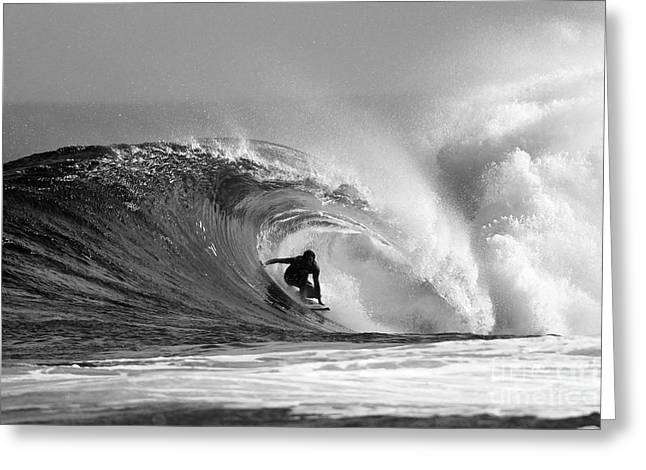 Surf Greeting Cards - Caveman Greeting Card by Paul Topp