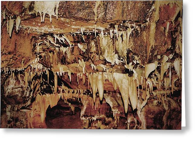 Dripping Water Greeting Cards - Cavern Beauty Greeting Card by Dan Sproul