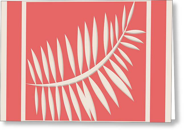 Cayenne Greeting Cards - Cayenne Abstract No.2 Greeting Card by Bonnie Bruno