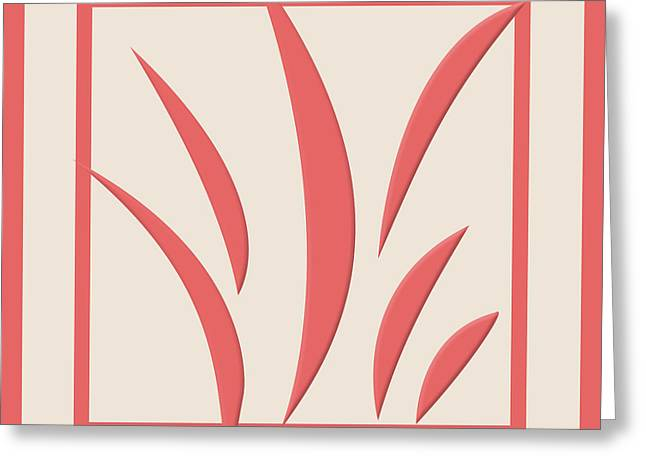 Cayenne Greeting Cards - Cayenne Abstract No.3 Greeting Card by Bonnie Bruno
