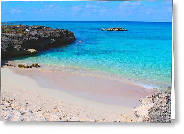 Diving Photographs Greeting Cards - Cayman paradise Greeting Card by Carey Chen