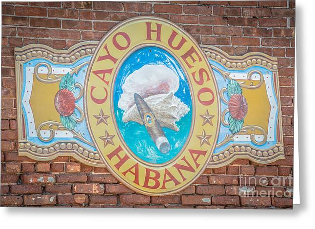 Habana Greeting Cards - Cayo Hueso Habana Key West - HDR Style Greeting Card by Ian Monk