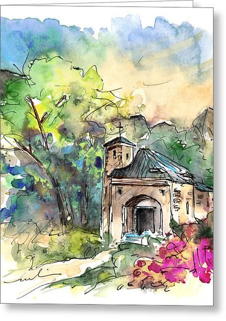Cazorla 07 Greeting Card by Miki De Goodaboom