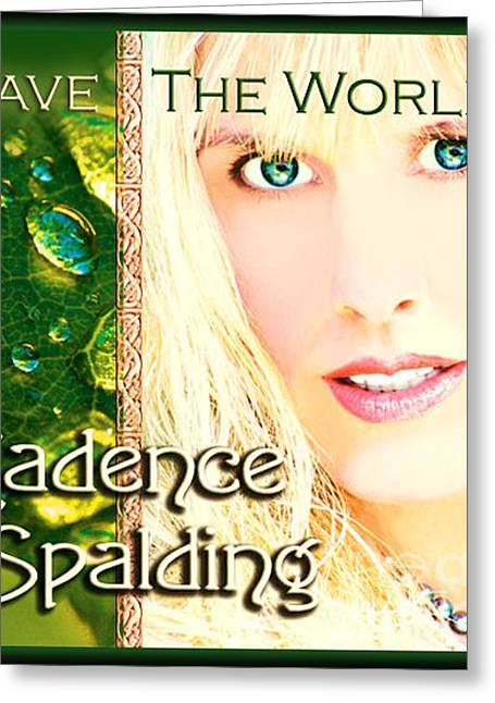 Cd Cover Cadence Spalding Greeting Card by Cadence Spalding