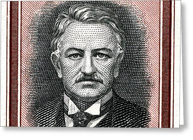 Cecil John Rhodes - 1.5d Crop Greeting Card by Outpost Imagery