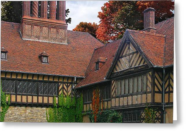 End Of War Greeting Cards - Cecilienhof Palace Greeting Card by Doug Kreuger
