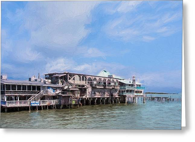 Cedar Key Greeting Cards - Cedar Key Greeting Card by John Bailey