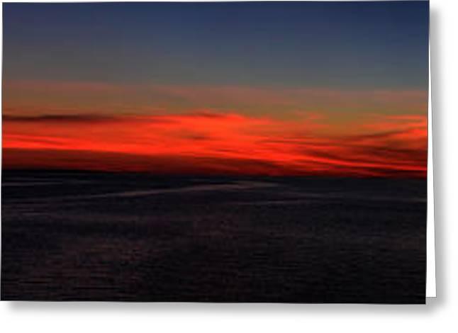 Cedar Key Greeting Cards - Cedar Key Sunset Greeting Card by Dick Hudson