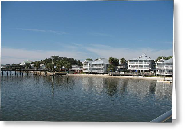 Cedar Key View Greeting Card by Christiane Schulze Art And Photography