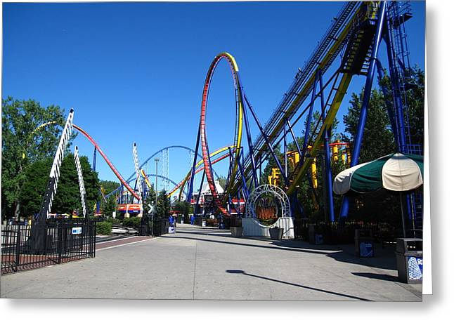 Mantis Greeting Cards - Cedar Point - Mantis - 12121 Greeting Card by DC Photographer
