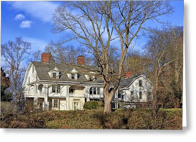 Photographic Greeting Cards - Cedarmere - William Bryant House Greeting Card by Bob Slitzan