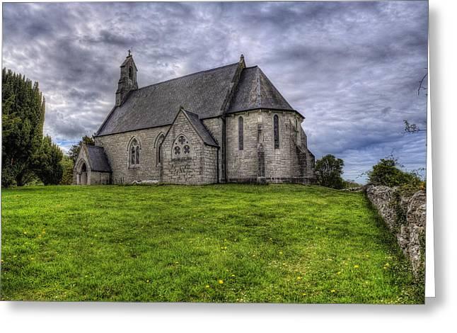 Cefn Meiriadog Parish Church Greeting Card by Ian Mitchell