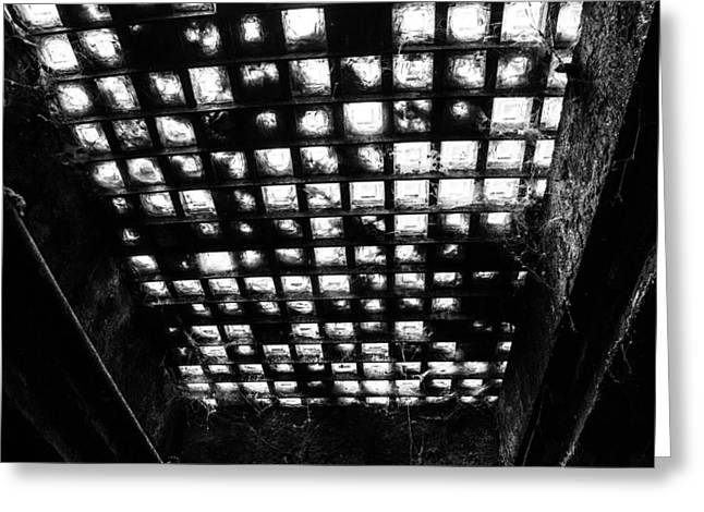 Underground Tour Greeting Cards - Ceiling Greeting Card by Angus Hooper Iii