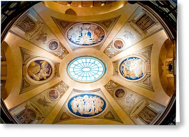 Panini Greeting Cards - Ceiling Art Greeting Card by Greg Fortier