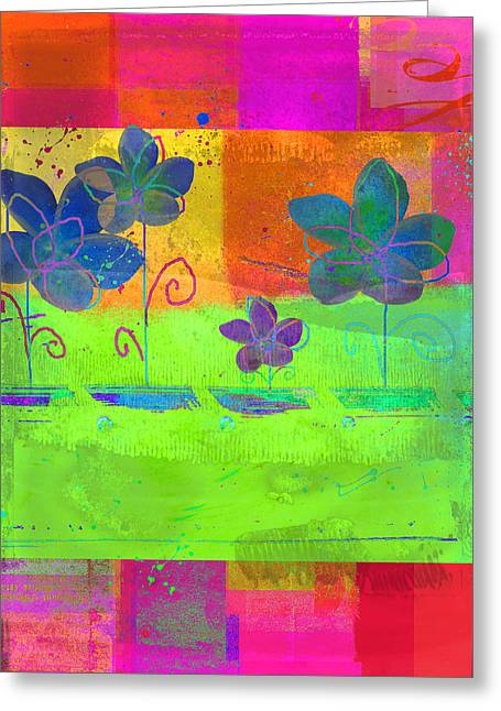 Multicolor Digital Greeting Cards - Celebrate - c560cc Greeting Card by Variance Collections