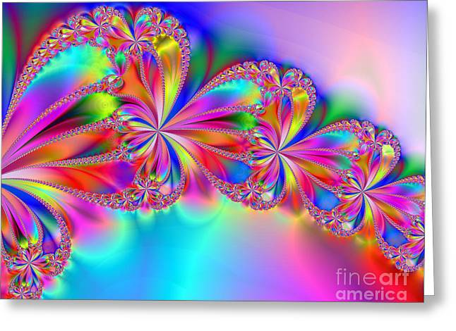 Enhanced Greeting Cards - Celebrate Greeting Card by Dianne Phelps