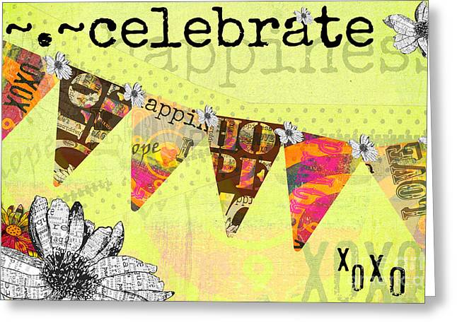 Celebrate Juvenile Licensing Greeting Card by Anahi DeCanio