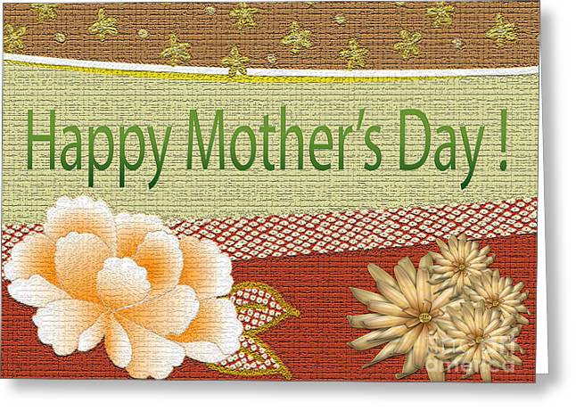 Bible Greeting Cards - Old Fashion Mothers Day Card Greeting Card by Tina M Wenger