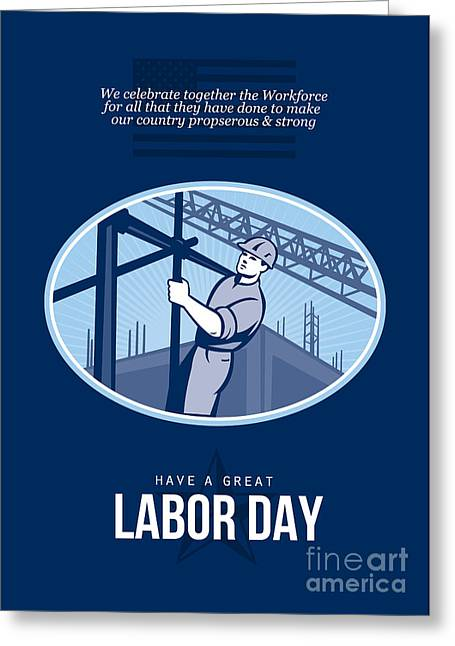 Labor Day Greeting Cards - Celebrating Labor Day Greeting Card Greeting Card by Aloysius Patrimonio