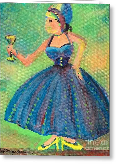 Cheer On Paintings Greeting Cards - Celebrating Life Greeting Card by Deb Magelssen