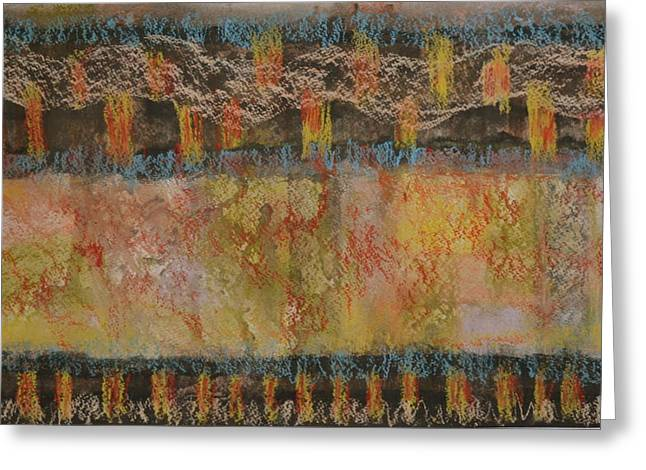 Flames Pastels Greeting Cards - Celebration Greeting Card by Doris Roland