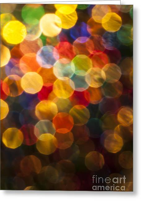 Vivid Colour Greeting Cards - Celebration Greeting Card by Jan Bickerton