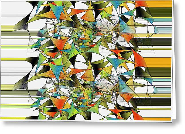 Recently Sold -  - Surprise Greeting Cards - Celebration Greeting Card by Raul Ugarte