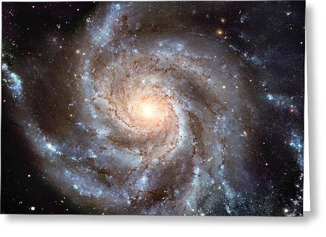 Interstellar Space Greeting Cards - Celestial Spiral Greeting Card by Nomad Art And  Design