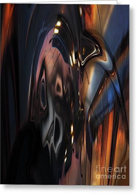 Cellphone Digital Art Greeting Cards - Cellphones Revenge Greeting Card by Tom Hubbard