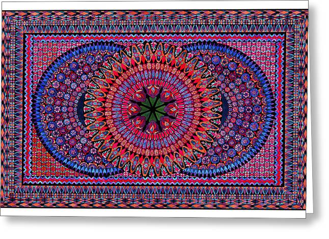 Lawrence Chvotzkin Greeting Cards - Celtic Cosmos Greeting Card by Lawrence Chvotzkin