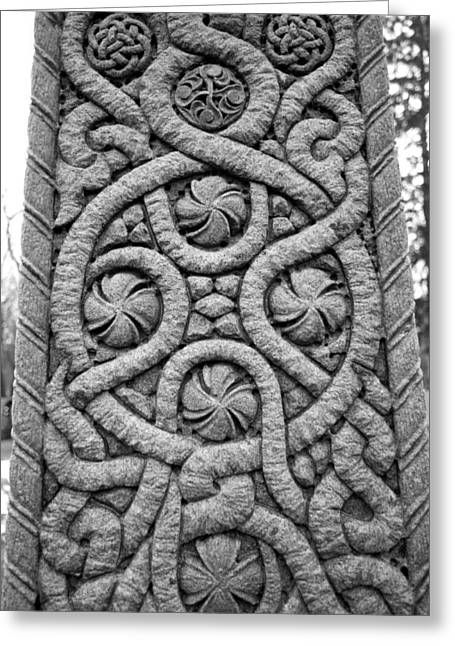 Concord Greeting Cards - Celtic Cross Greeting Card by Allan Morrison