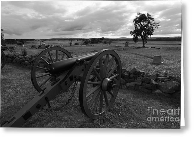 Cemetery Ridge Greeting Cards - Cemetery Ridge Gettysburg Battlefield Greeting Card by James Brunker