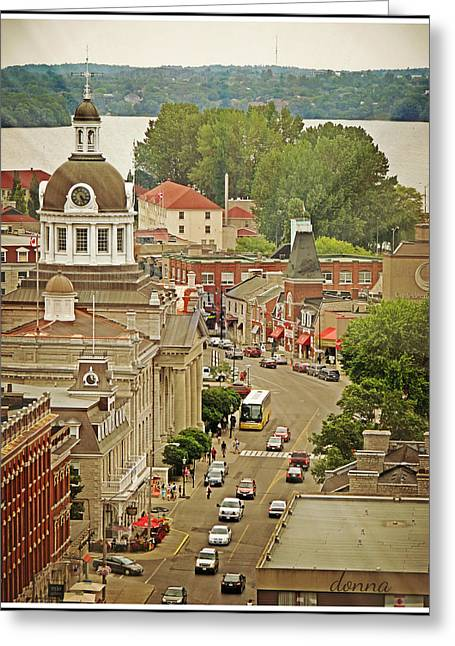 Kingston Digital Greeting Cards - Center of Interest Greeting Card by Donna Brown