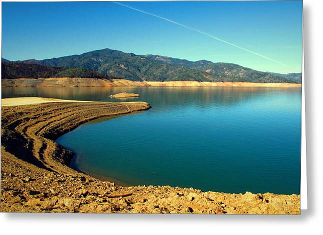Metal Fish Art Photography Greeting Cards - Centimudi Lake Shasta Greeting Card by Joyce Dickens