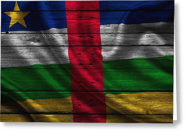 Continent Greeting Cards - Central Africa Greeting Card by Joe Hamilton