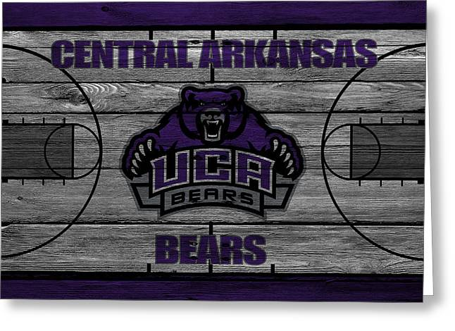 March Greeting Cards - Central Arkansas Bears Greeting Card by Joe Hamilton