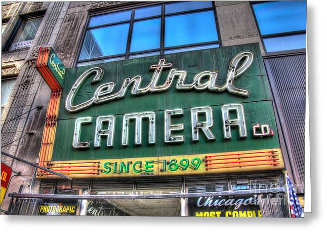 Central Il Greeting Cards - Central Camera Greeting Card by Andrew Slater