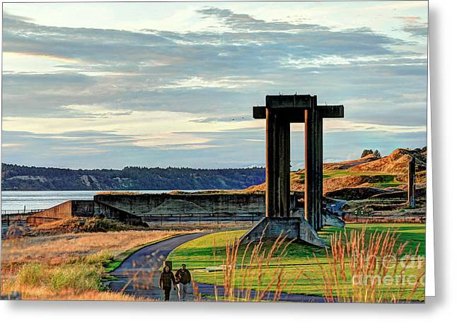 Mistymisschristie Greeting Cards - Central Meadow Walkers Greeting Card by Chris Anderson